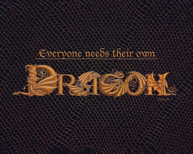 Print Everyone Needs Their Own Dragon by Sue Ellen Brown