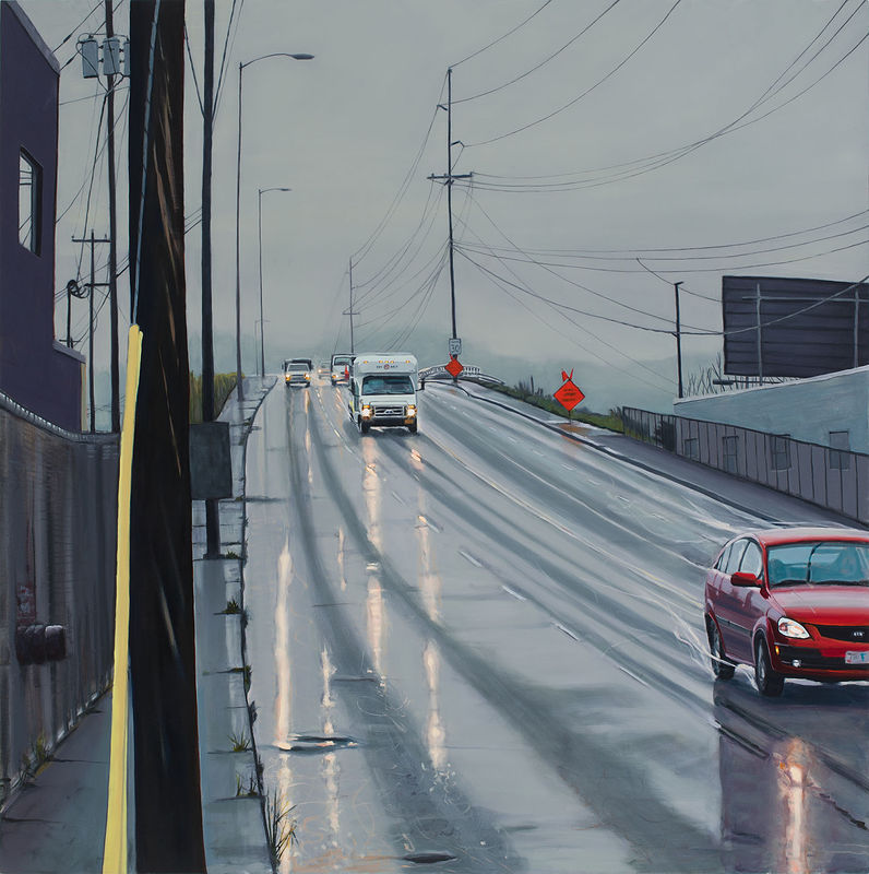 Oil painting Holgate Drench by Shawn Demarest