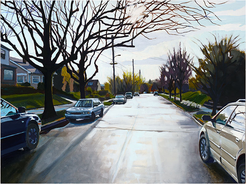 Oil painting Sun after Rain by Shawn Demarest