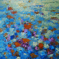 Floral Medow_48x36 by Adam Thomas