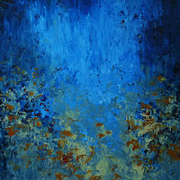 Flowers at Midnight_48x36 by Adam Thomas
