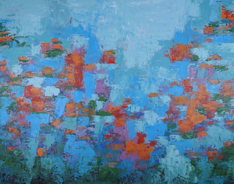 Water Music_46x58 by Adam Thomas