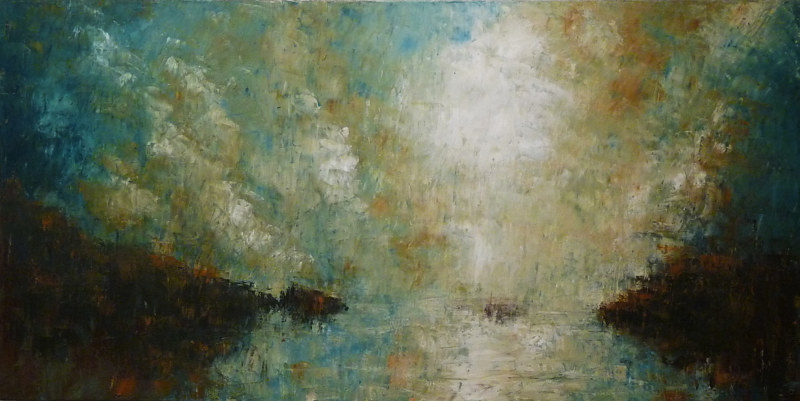 Tranquility_48x24 by Adam Thomas