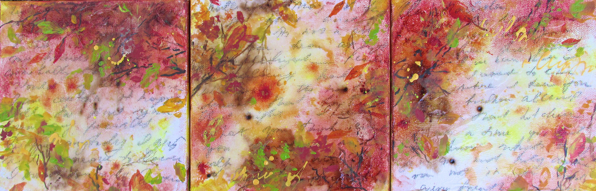 Acrylic painting Autumn Poetry by Laura Spring
