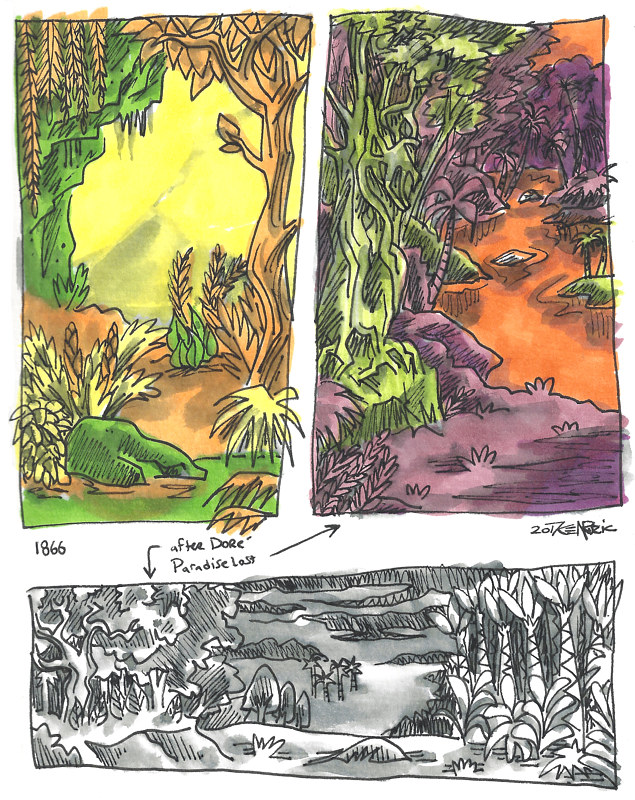 9-15/9-25-16 Watercolor Sketchbook Pg 17 by Kenneth M Ruzic