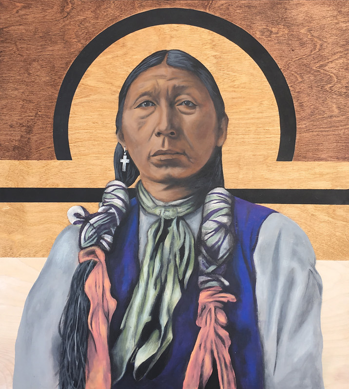Little Chief by Stuart  Sampson