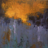 Morning Thaw_24x24 by Adam Thomas