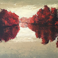 Quiet Maple_36x48 by Adam Thomas