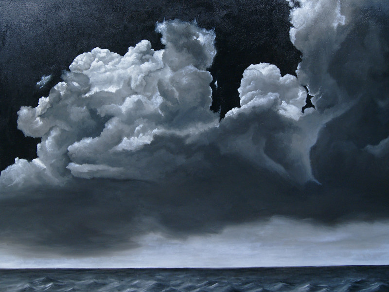 The Calm Before th eStorm_36x48 by Adam Thomas