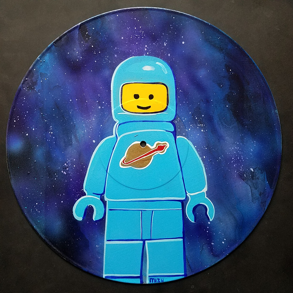 Space Lego Man  by Isaac Carpenter