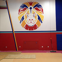 Painting Lee Elementary by Elizabeth Mercer