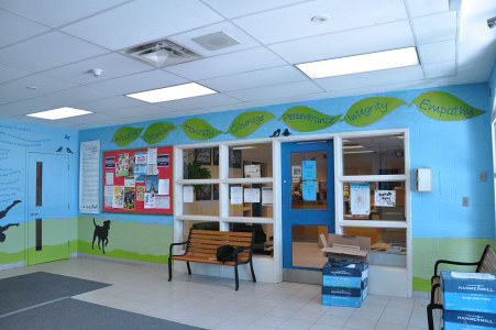 CROSBY HEIGHTS P.S. FOYER 2 by Cindy Scaife