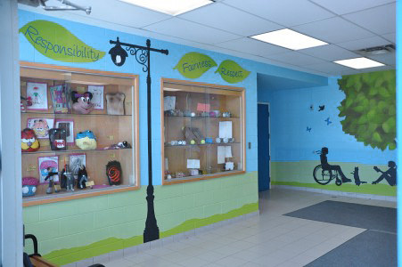 CROSBY HEIGHTS P.S. FOYER 3 by Cindy Scaife