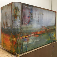 "This is not a Coffee Table ~ 28""x 50""x 18"" ~ $3,000 by Paul Catalanotto"