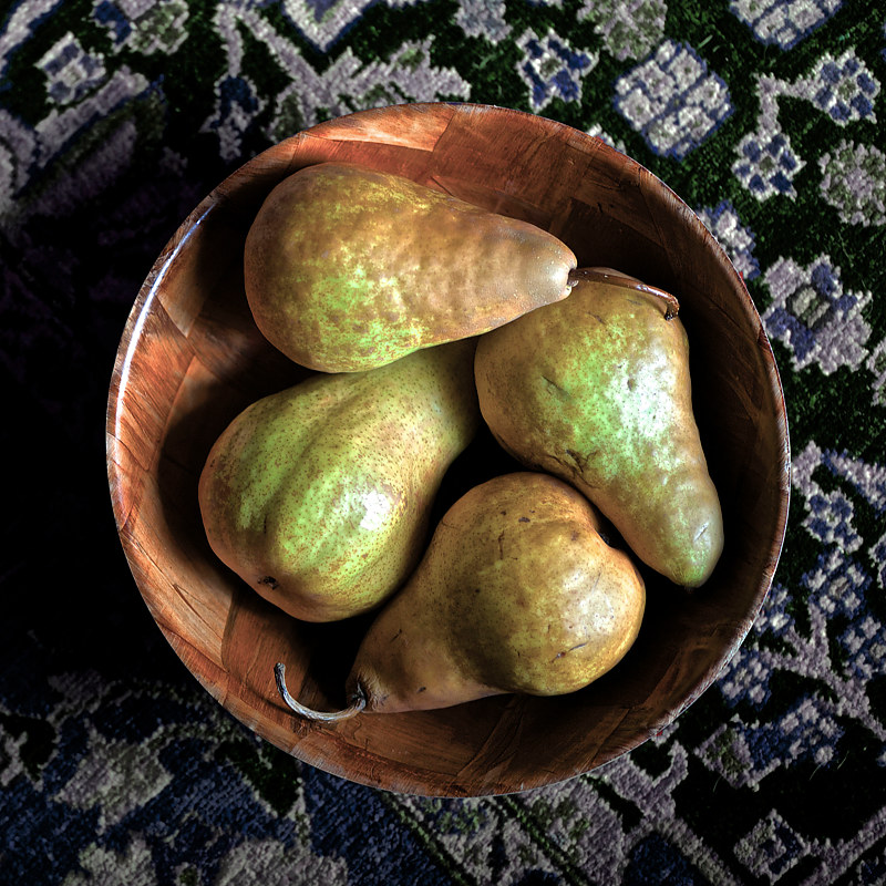 """Four Local Pears"" by Hunter Madsen"