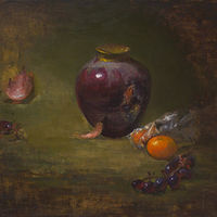 Oil painting Stilllife by Julie Gladstone