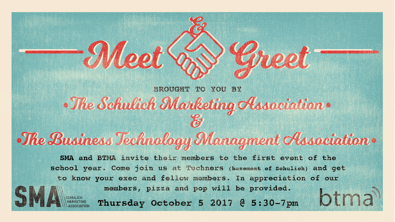 Schulich Marketing Association Meet & Greet by Brooke Allen