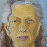 Oil painting Custom portrait 8x10 (Sample Stephanie G) by Pamela Neswald