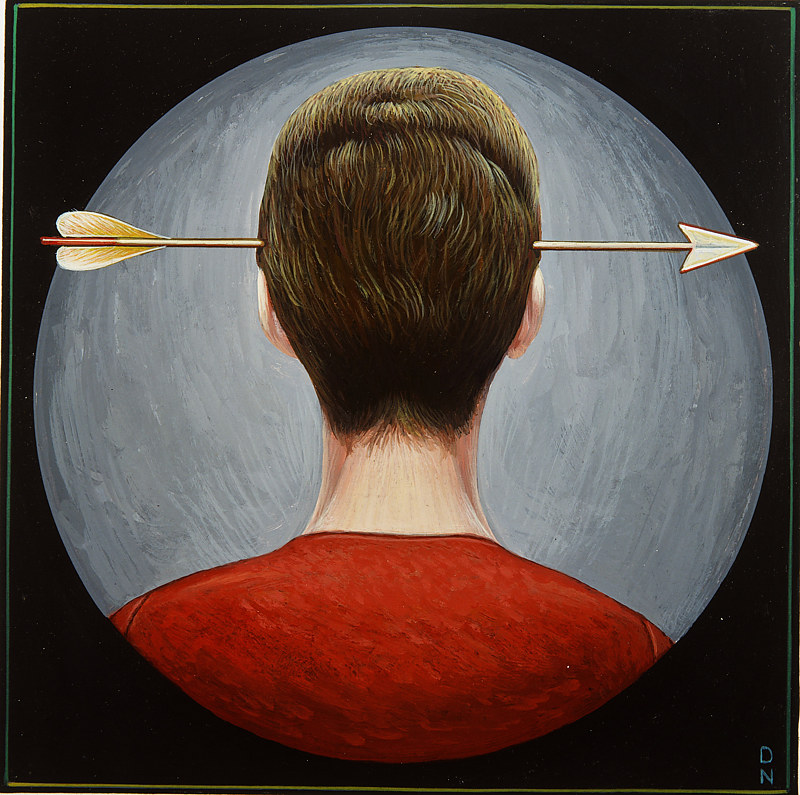 Arrow in the Head by Adrienne Noble