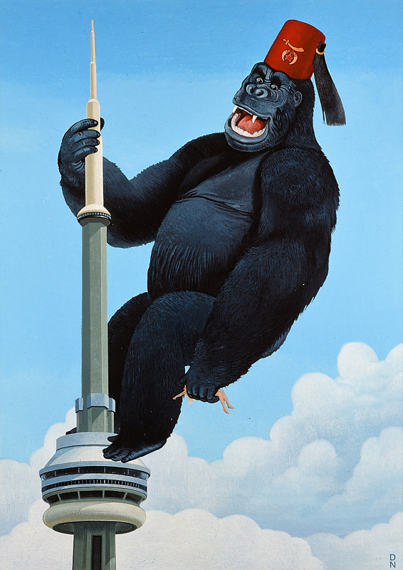 King Kong Shriner by Adrienne Noble