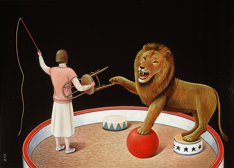 Lion Tamer by Adrienne Noble
