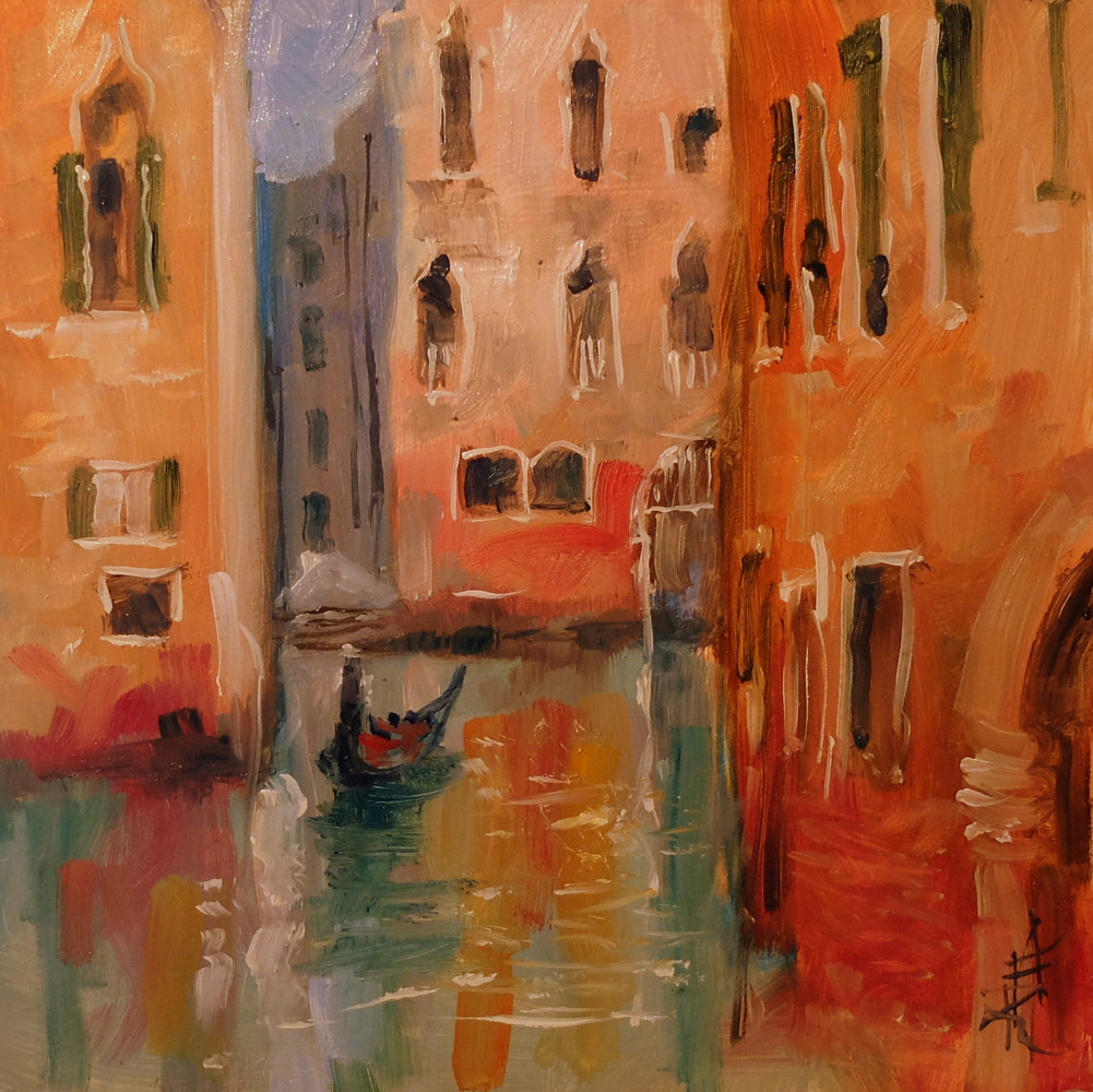 Venice 2 by Anne Farrall Doyle