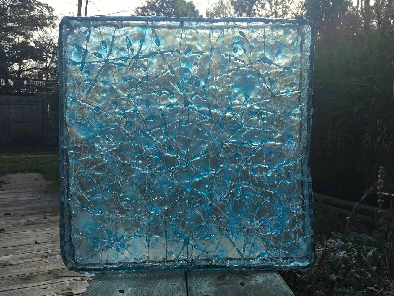 Acrylic painting Box Of Rain by Steven Simmons