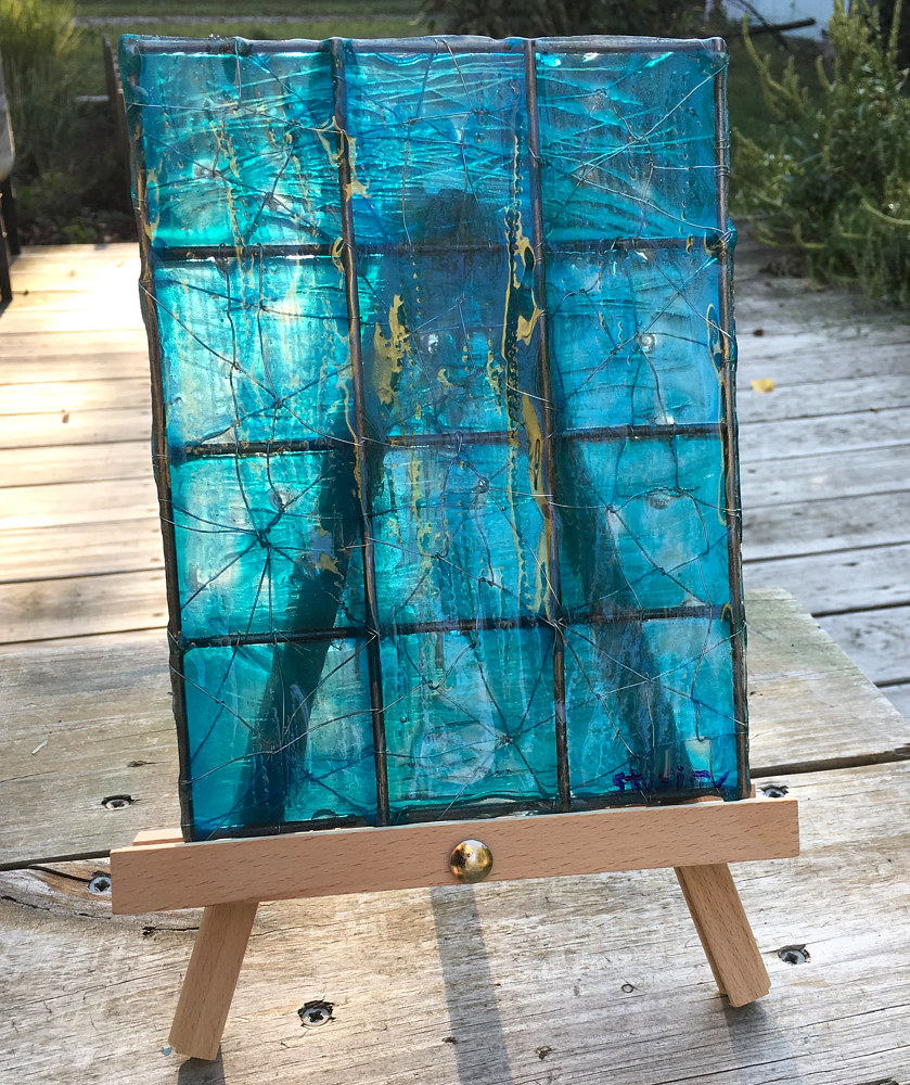 Acrylic painting Translucent Twelve Pack by Steven Simmons