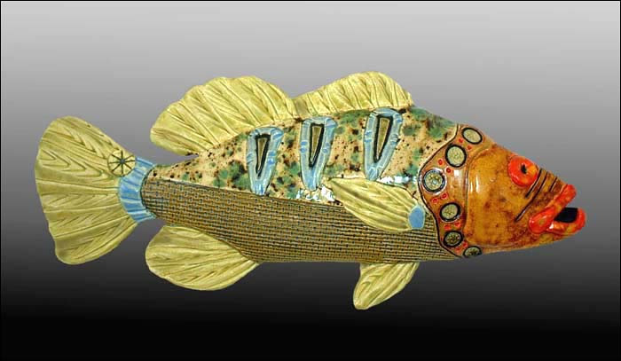 Sea Bass by Cathy Crain