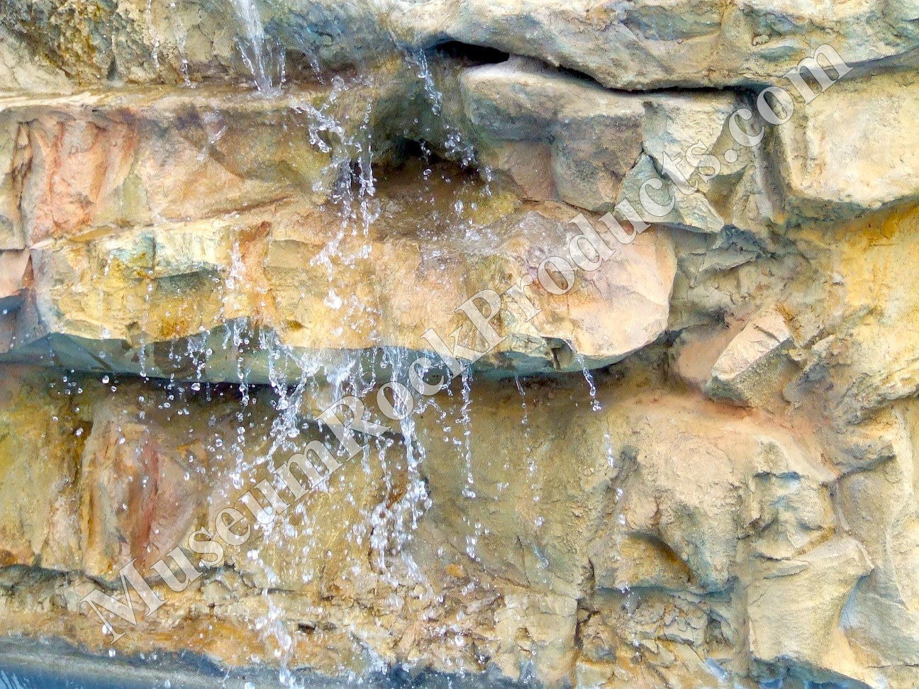 Pool Waterfall 2 by Forest (museumrock.com) Boone
