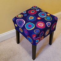 Ringed stool by Valerie Johnson