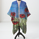 Print Poppy jacket by Valerie Johnson