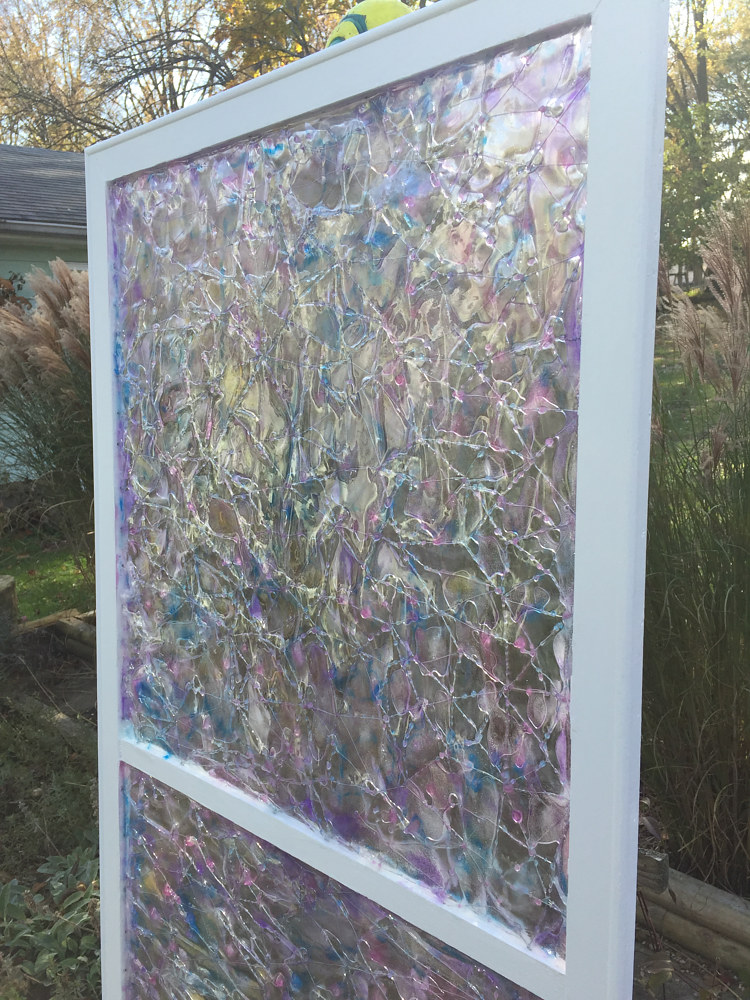 Parfait Twindows (detail outdoor) by Steven Simmons