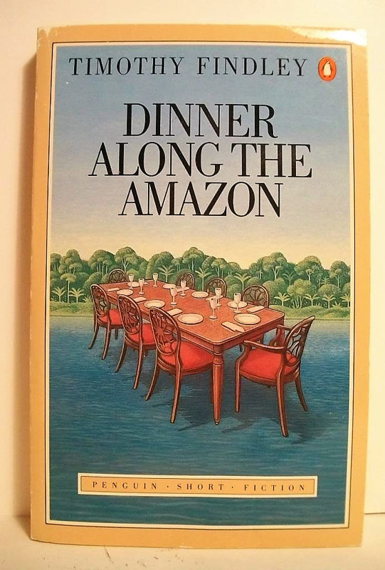 Dinner Along The Amazon by Adrienne Noble