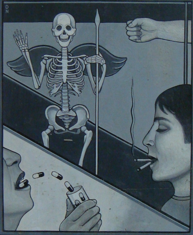 death and drugs by Adrienne Noble