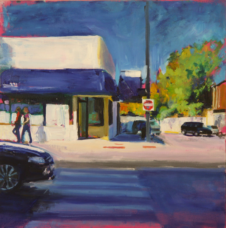 Oil painting addison and n ravenswood  by Madeline Shea