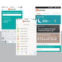 Intouch Solutions | Pharmaceutical Marketing Agency | proCeed | Android App by Nathalie Gribinski