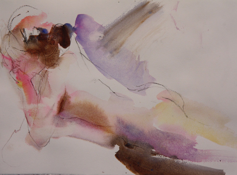 Watercolor thinking by Madeline Shea