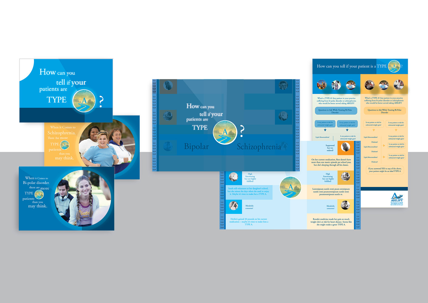 Corbett Healthcare | Pharmaceutical Marketing Agency | Abilify | Brochure by Nathalie Gribinski