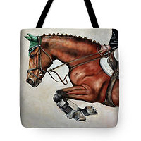 Print The Jumper Tote bag by Debbie Hart