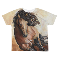 Toddler Buckskin T by Debbie Hart