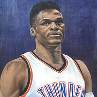 Russell Westbrook by Stuart  Sampson