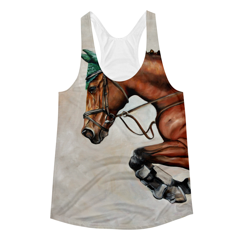 The Jumper Racerbank Tank by Debbie Hart