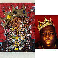 biggie opposite the pic by Jeffrey Newman