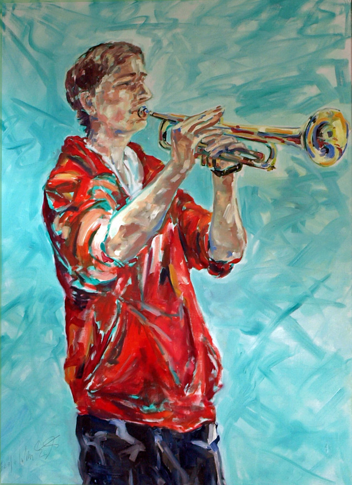 private collection 'Jazz' by Lully Schwartz