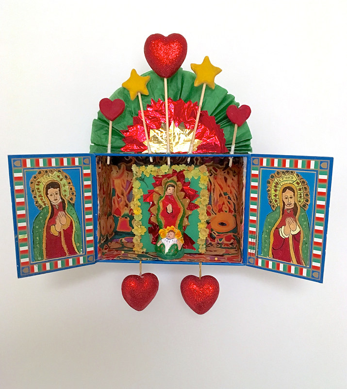 Hearts and Stars for Our Lady of Guadalupe by Alison Lang