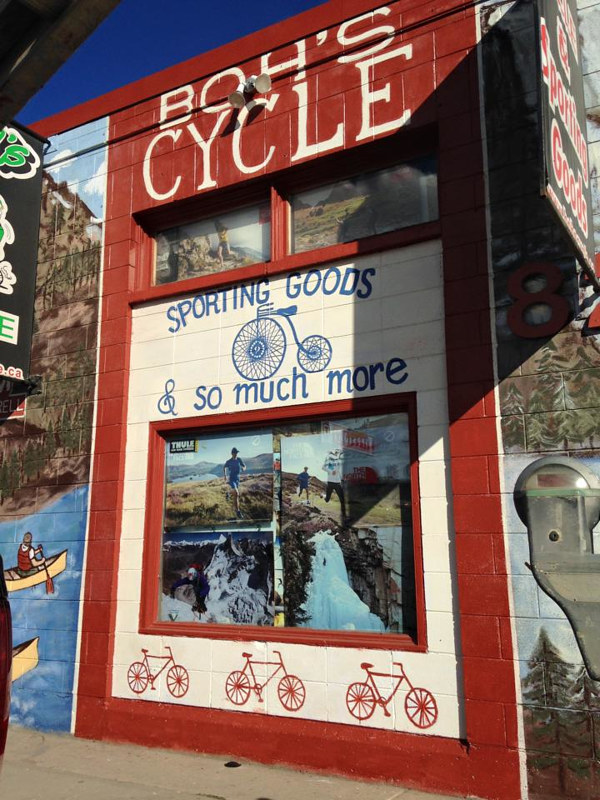 BOH'S CYCLE & SPORTING GOODS by Carly Jaye Smith
