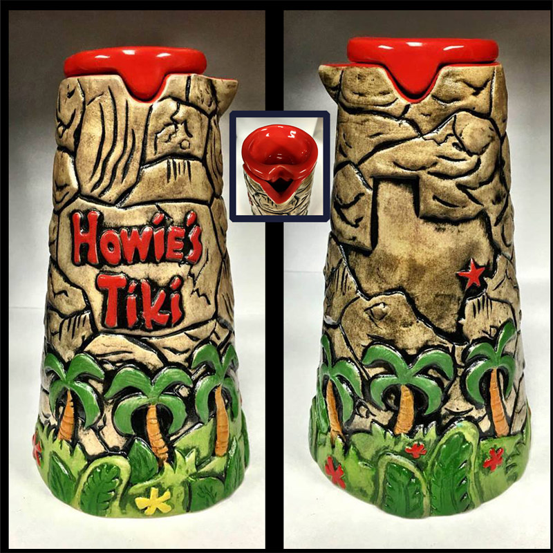 "Painting ""Howie's Tiki"" House Mug by Kenneth M Ruzic"