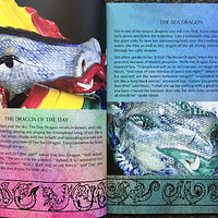 Interior pages of Dancing Dragon Magic by Susan James