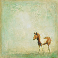 Acrylic painting Pony by Sally Adams